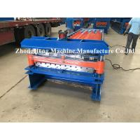 China 27-200-1000 Model Quality Roofing Sheet Roll Forming Machine With Plc Control on sale