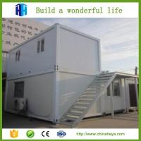 Quality prefabricated steel frame container home van house prices for sale philippines for sale