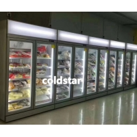 Quality Large Capacity Single Temperature Refrigeration Equipment Cold Drink Display Refrigerator for sale