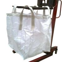 Quality White Storage Flexible Bulk Container For Packing Cement / Sand / Mine for sale