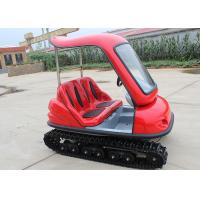 Quality Track Electric Sightseeing Car Durable With Green Energy Double Brake Pedal for sale