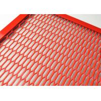 Quality Hexagonal Hole Aluminum Expanded Metal Mesh For Shelving And Room Dividers for sale