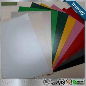 Quality Multicolor FEVE Aluminium Composite Panel Sheet Thickness 3mm ~ 6mm Custom Length for sale