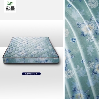 Quality Anti Static 50D 100%  Polyester Mattress Fabric Customized Pattern for sale