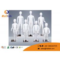 Quality Fashionable Retail Shop Fittings Children Model Kids Ghost Mannequins for sale