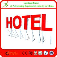 Quality OEM Irregular Acrylic advertising programmableled led sign board for sale