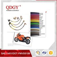 Quality Stainless steel braided brake hose is widely used for any auto, motorcycle, racing cars, beach vehicles, ATV and Scooter for sale