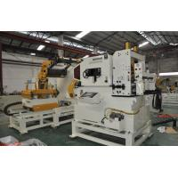 Quality Coil Decoiler Straightener Feeder 3 In 1 Machine 0.6-6.0mm Single Head With Cantilever for sale