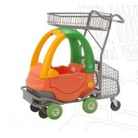 Quality Metal 80L Kids Shopping Carts / Childrens Shopping Trolley Funny Toy Car for sale