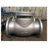 """Buy cheap Pressure 300lbs Flanged Ball Check Valve Dia 3"""" Mat ASTM A 216 Grade WCB from wholesalers"""