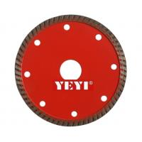 Quality 105mm Diamond Saw Blades Sintered Turbo Type For Heavy Duty Cutting Granite for sale
