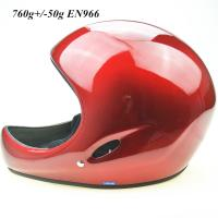 Quality Red  Paragliding helmet  GD-A 760g+/-50g EN966 Standard Full face Hang gliding helmet for sale