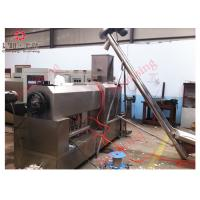 Quality MultifunctionPasta Production Line Single Screw Extruder With Moulds And Knives for sale