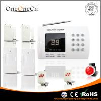 Quality Wireless PSTN Security Alarm System with LED Display and Keypad for home for sale