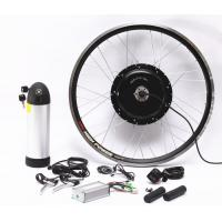 Quality 1500W Electric Mountain Bike Conversion Kit With Lithium Baterry And LCD Display for sale