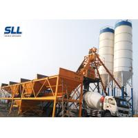 Quality HZS25 Concrete Batching Plant Equipment Compact Structure Space Saving for sale