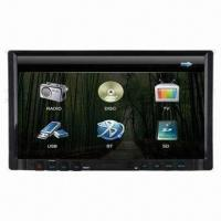 China Car Multimedia Player with 7-inch TFT Touchscreen LCD Panel, USB/SD/BT/iPod/TV Function on sale