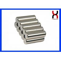 Quality Toy Use Cylindrical Neodymium Magnets , Sintered Magnetic Material Cylinder Magnets for sale