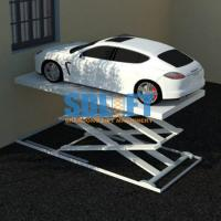Buy cheap 3T 5.6M Hydraulic Scissor Car Lift For Home Garage Portable / Heavy Duty Scissor from wholesalers