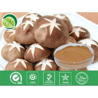 Quality 100% natural herbal type polysaccharide 10%-40% shiitake mushroom extract -Lentinula edode for sale