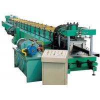 Quality Industrial Metal C Purlin Roll Forming Machine , Steel Roll Forming Machine  for sale