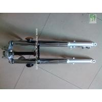 China CG125 Chrome Honda Motorcycle Parts Fork Assy Front Shock Absorber Disc Brake on sale