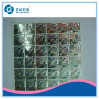 Quality Hologram Product Stickers And Labels , Security Stickers For Computers for sale