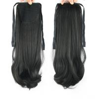 Quality Promotion sales Synthetic Natural Black  Natural Wave Pony Tail Hair Pieces for sale