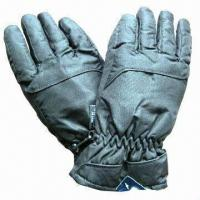 China Water-/Wind-proof Winter/Ski Gloves/Sports Mittens, Made of Spray Cotton  on sale