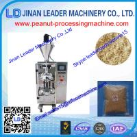 China Peanut packaging machine Three sides sealing granule  for utomatic making ba on sale