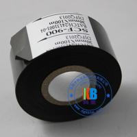 Quality Paper PVC PET plastic abs label date printing scf900  fc3  lc1black hot coding foil ribbon 25mm*100m for sale