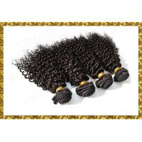 Quality Promotion Queen Product 5A India Virgin Hair 20inch Black Deep Curly Human Hair Weavings for sale