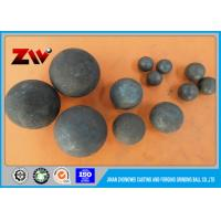 Quality Industrial Mineral Processing grinding balls for mining , forging and casting Tecnology for sale
