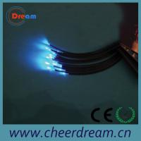 Quality 1.0mm PMMA plastic end light optic fiber cable for lighting for sale