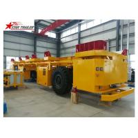 Quality AGV Frame Load Haul Trailers , Gooseneck Steel Heavy Haulage Trailers for sale