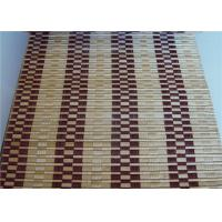 China Durable Bamboo Roller Blinds , Outdoor Bamboo Roll Up Curtains Office Use on sale