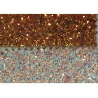 Wall Paters And Crafts 3D Glitter Fabric 54/55'' Width And Knitted Backing Technics