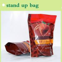 Quality brown stand up bag for packaging milk chocolate for sale