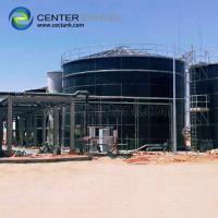 Quality Porcelain Enamel Industrial Water Tanks With Convenient Installation for sale