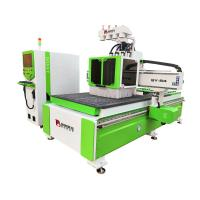 Quality 9 KW Air Cooling Spindle CNC Wood Cutting Machine 1300*2500*200mm AC380V/50HZ for sale