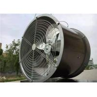 Stainless Steel Greenhouse Ventilation System Wall Fan Mounting Design
