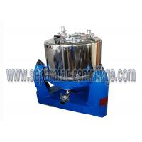 Quality Manual Unload Intermittent Operation Top Discharge Food Centrifuge with Clamshell for sale