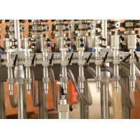 Quality Full Automatic Glass Bottle Hot Filling Machine For Peanut Butter , Cream for sale