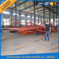 Quality 8T Container Loading Ramps / Industrial Loading Ramps 0.9m - 1.8m Lifting height for sale