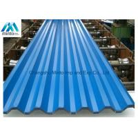 Quality Lightweight Coloured Corrugated Roofing Sheets DX51D JIS ASTM GB DIN 0.13mm - 6.0mm for sale