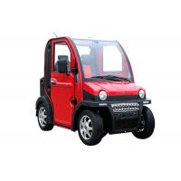 Quality Four Wheels Electric Vehicle Car , 60V 2800W 2 Passenger Automatic Electric Car for sale