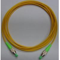 China 1, 2, 3 meter or customized Yellow color FC APC Fiber Optic Patch Cord with LSZH cable for sale