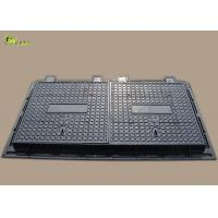 China Composite Round Waterproof FRP Manhole Cover Square Sewage Rain Drain Grating on sale