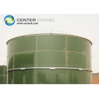 Quality Painting Glass Fused Steel Liquid Tanks With Fastest Construction Time for sale