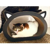 Head Shape Corrugated Cardboard Cat Furniture Renewable Resources To Trim Claws
